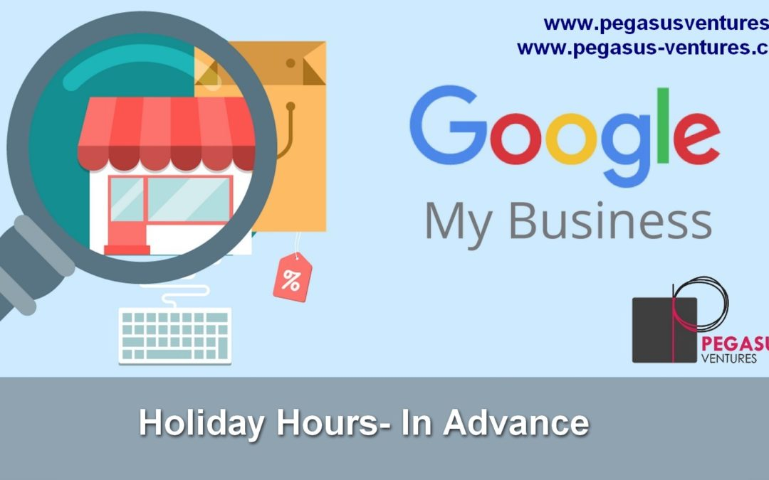 Google My Business Announce Holiday Hours