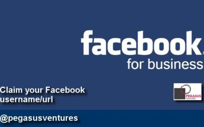 Claim a business Facebook username and URL