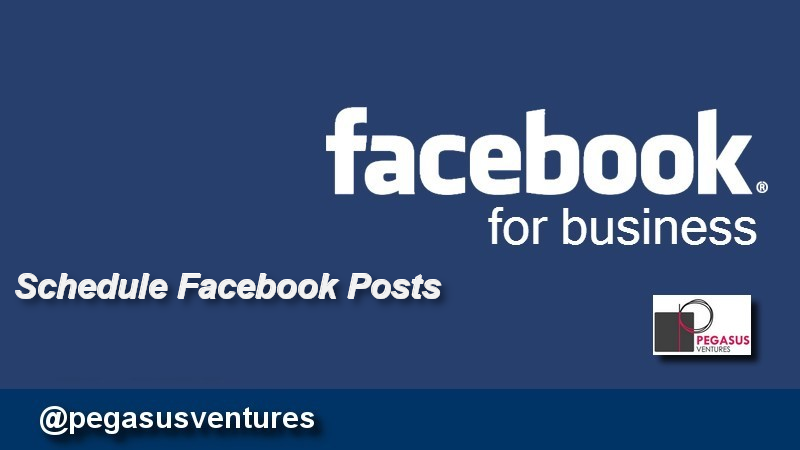 Schedule Facebook Business Page posts